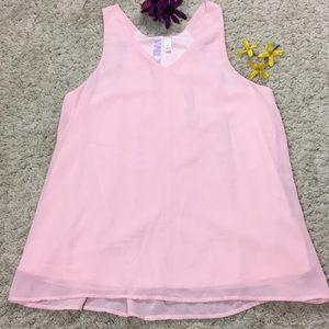 Alya Women's Pink Soft Tanktop Size L